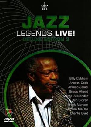 Jazz Legends Live!: Deluxe Edition 3 Online DVD Rental