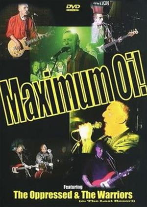 Rent Maximum Oi! Online DVD Rental