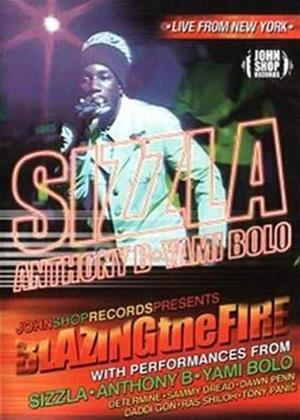 Sizzla: Blazing the Fire Online DVD Rental