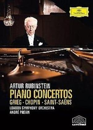 Arthur Rubinstein: Piano Concertos Online DVD Rental