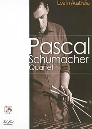 Pascal Schumacher Quartet: Live in Australia Online DVD Rental