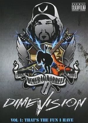Dimebag Darrell: That's the Fun I Have: Dimevision: Vol.1 Online DVD Rental