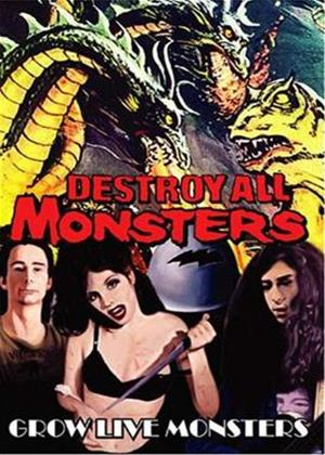 Destroy All Monsters: Grow Live Monsters Online DVD Rental