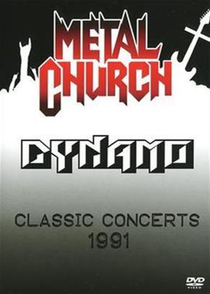 Metal Church: Dunamo Classic Concert 1991 Online DVD Rental