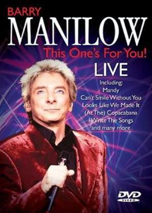 Rent Barry Manilow: This One's for You Online DVD Rental