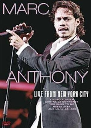 Rent Marc Anthony: Live from New York City Online DVD Rental