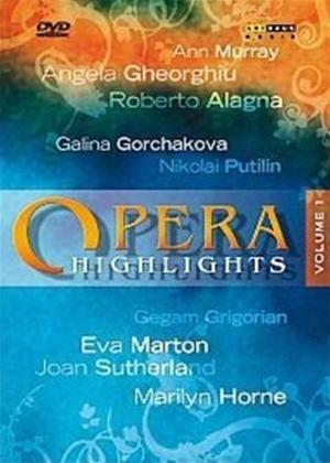 Opera Highlights: Vol.1 Online DVD Rental