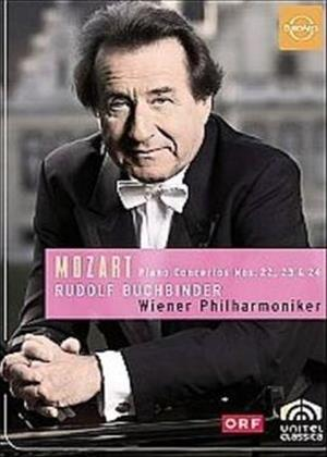 Rent Mozart: Piano Concertos Nos.22, 23 and 24 (Buchbinder) Online DVD Rental
