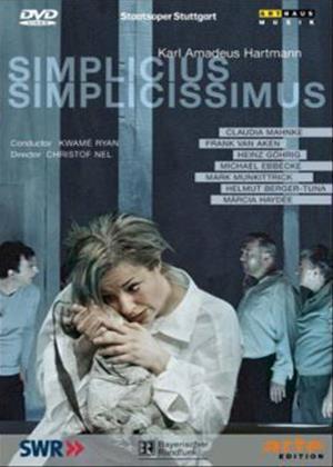 Hartmann: Simplicus Simplicissimus Online DVD Rental