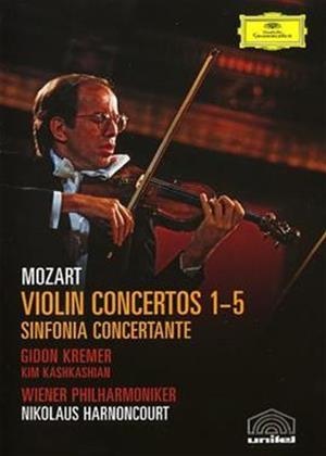 Rent Mozart: Violin Concertos: Gidon Kremer Online DVD Rental