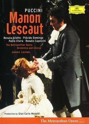 Rent Puccini: Manon Lescaut: The Metropolitan Opera (Levine) Online DVD Rental