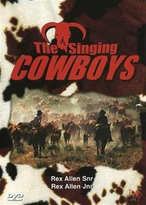 Rex Allen, Sr, Rex Allen, Jr: The Singing Cowboys Online DVD Rental