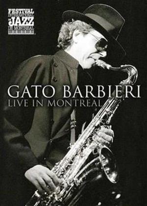 Gato Barbieri: Live in Montreal Online DVD Rental
