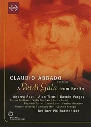 Claudio Abbado: A Verdi Gala from Berlin Online DVD Rental