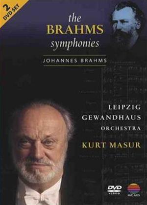 Brahms: The Symphonies: Masur, Leipzig Gewandhaus Online DVD Rental