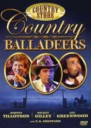 Countrystore Presents: Country Balladeers Online DVD Rental