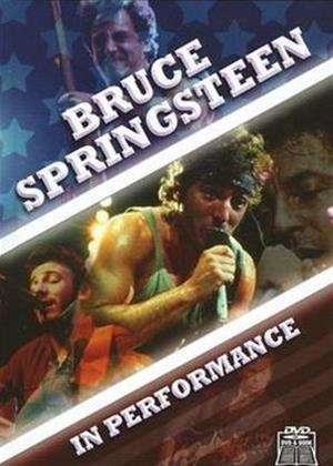 Bruce Springsteen: In Performance Online DVD Rental