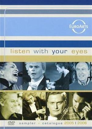 Rent Listen with Your Eyes: Euroarts Sampler Online DVD Rental
