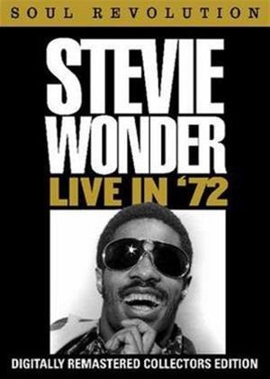 Rent Stevie Wonder: Live in '72 Online DVD Rental