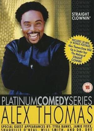Alex Thomas: Straight Clownin' Online DVD Rental