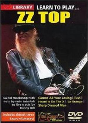 Rent Lick Library: Learn to Play ZZ Top Online DVD Rental