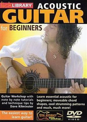 Rent Acoustic Guitar for Beginners Online DVD Rental