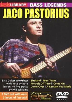 Rent Jaco Pastorius: Bass Guitar Online DVD Rental