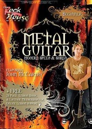 Rent The Rock House Method: Metal Guitar Beginner Online DVD Rental