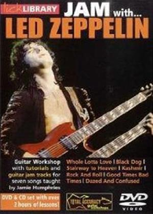 Rent Lick Library: Jam with Led Zeppelin Online DVD Rental