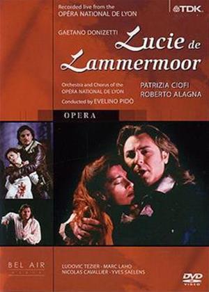 Rent Donizetti: Lucie de Lammermoor: Lyon National Opera Online DVD Rental