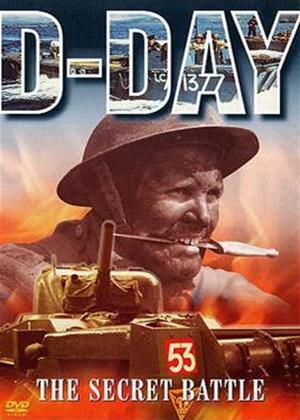Rent British Campaigns: D Day: The Secret Battle Online DVD Rental