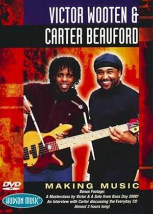Victor Wooten and Carter Beauford: Making Music Masterclass Online DVD Rental