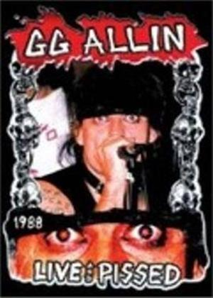 GG Allin: Live and P***ed Online DVD Rental
