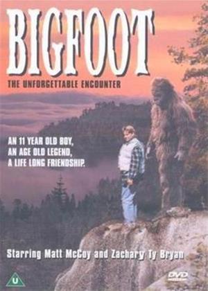 Bigfoot: The Unforgettable Encounter Online DVD Rental
