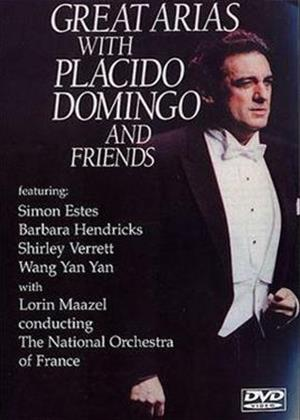 Rent Placido Domingo and Friends: Great Arias Online DVD Rental