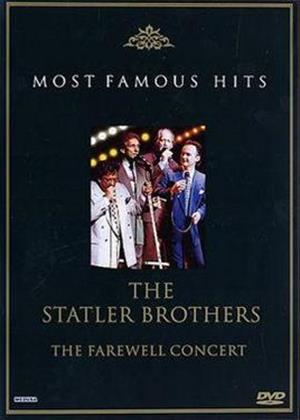 Rent The Statler Brothers: The Farewell Concert Online DVD Rental