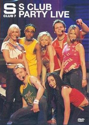 Rent S Club 7: Party Live Online DVD Rental