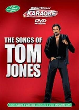 Rent Startrax Karaoke: Tom Jones Online DVD Rental