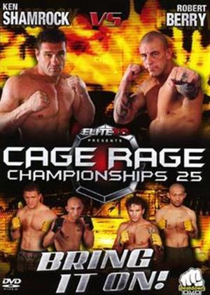 Cage Rage 25 Online DVD Rental