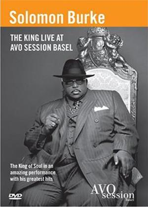Solomon Burke: Live at Avo Session Basel Online DVD Rental