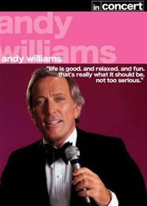 Rent Andy Williams: In Concert Online DVD Rental