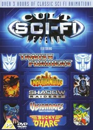 Cult Sci-fi Legends Online DVD Rental