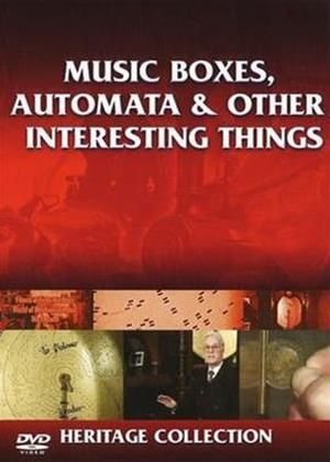 Rent Heritage: Music Boxes, Automata and Other Interesting Things Online DVD Rental