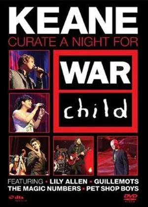 Keane Curate: A Night for War Child Online DVD Rental