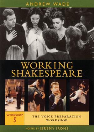 Rent Working Shakespeare: Workshop 5: Voice Preparation Online DVD Rental