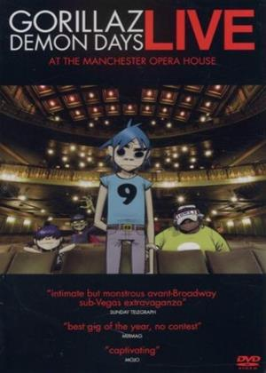 Gorillaz: Demon Days Live at the Manchester Opera House Online DVD Rental