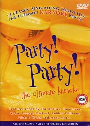Karaoke: Party Party Online DVD Rental