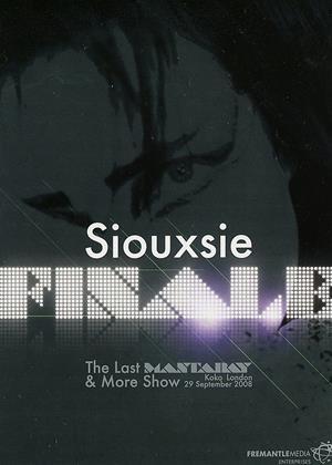 Rent Siouxsie Sioux: Finale Online DVD Rental