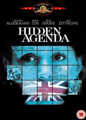 Hidden Agenda Online DVD Rental