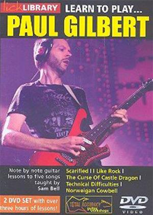Rent Lick Library: Learn to Play Paul Gilbert Online DVD Rental